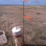 buoy on dry land - cropped